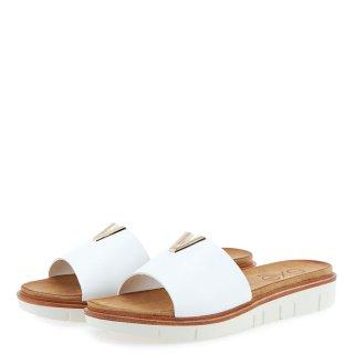 Γυναικείες Παντόφλες BZD86936 AA4 Eco Leather Λευκό Exe