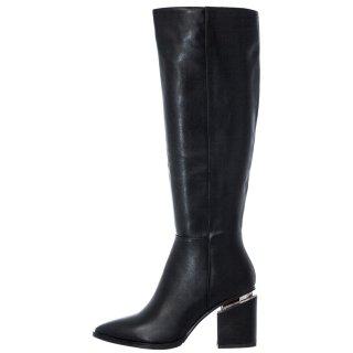 Γυναικείες Μπότες K1512 7560 Eco Leather Μαύρο Exe