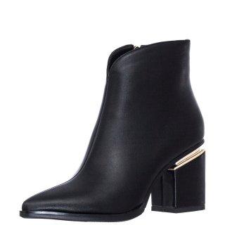 Γυναικεία Μποτάκια K1512 7800 Eco Leather Μαύρο Exe