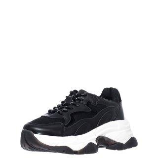 Γυναικεία Sneakers TW 8015 Eco Leather Μαύρο Exe