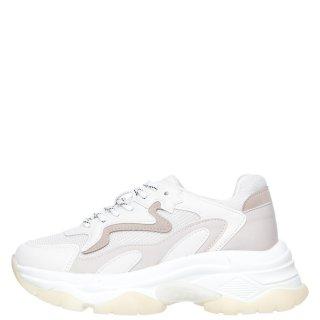 Γυναικεία Sneakers TW 8015 Eco Leather Λευκό Μπεζ Exe