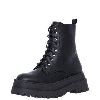 Γυναικεία Μποτάκια VF1307 10 Eco Leather Μαύρο Exe