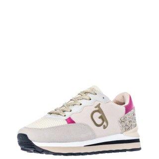 Γυναικεία Sneakers V13 61771 Ύφασμα Δέρμα Καστόρι Μπεζ Nude Gaudi
