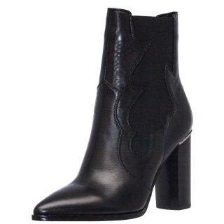 Γυναικεία Μποτάκια V94 66971 Δέρμα Μαύρο Gaudi