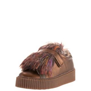 Γυναικεία Sneakers 41140 Eco Leather Μπρονζέ Gioseppo