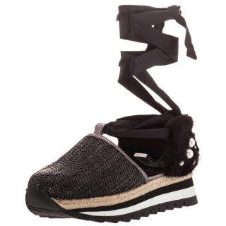 Γυναικεία Sneakers 43333 Ψάθα Μαύρο Gioseppo