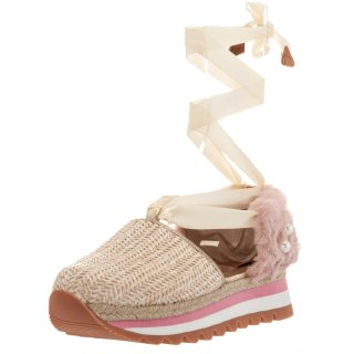 Γυναικεία Sneakers 43333 Ψάθα Ροζ Gioseppo