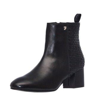Γυναικεία Μποτάκια 56581 FRIESLAND Δέρμα Μαύρο Gioseppo