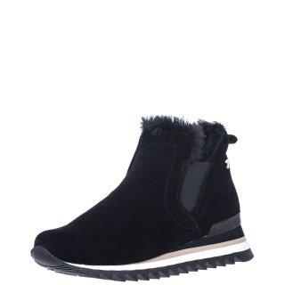 Γυναικεία Sneakers 56776 ECKERO Δέρμα Καστόρι Μαύρο Gioseppo