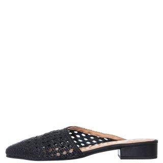 Γυναικεία Mules 58220 COLERAIN Δέρμα Μαύρο Gioseppo