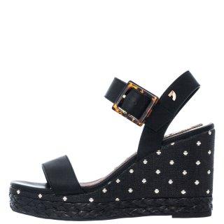 Γυναικείες Πλατφόρμες 62855 KIRBY Eco Leather Μαύρο Gioseppo