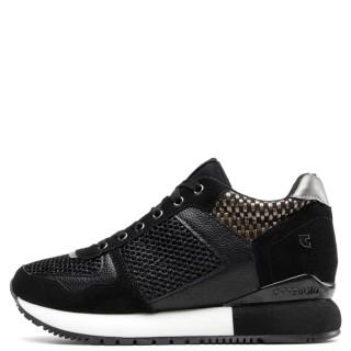 Γυναικεία Sneakers 64342 LILESAND Eco Leather Μαύρο Gioseppo
