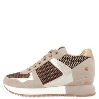 Γυναικεία Sneakers 64342 LILESAND Eco Leather Χρυσό Gioseppo