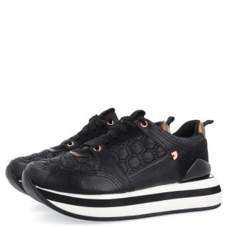 Γυναικεία Sneakers 64363 OSTEROY Eco Leather Μαύρο Gioseppo