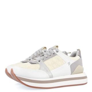 Γυναικεία Sneakers 64363 OSTEROY Eco Leather Offwhite Gioseppo