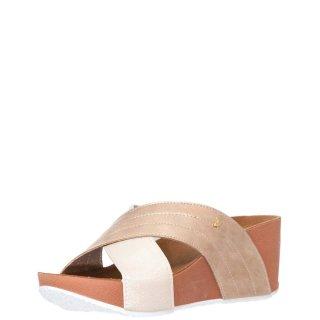 Γυναικείες Παντόφλες CERET 59328 Eco Leather Ροζ Χρυσό Gioseppo