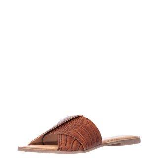 Γυναικείες Παντόφλες KELFORD 59860 Δέρμα Ταμπά Gioseppo