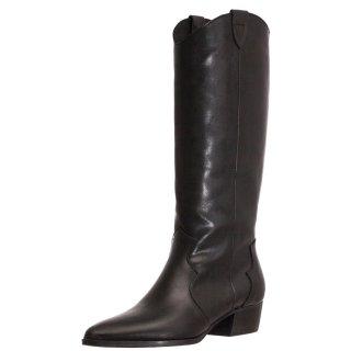 Γυναικείες Μπότες 19 518 Δέρμα Μαύρο Grumman