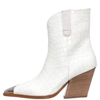Γυναικεία Μποτάκια 20 103 Eco Leather Λευκό Grumman