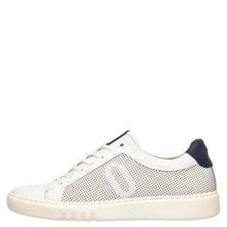 Ανδρικά Sneakers IM181001 GIUDECCA PUNCHED Δέρμα Offwhite Impronte