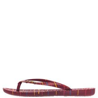 Γυναικείες Παντόφλες 780 19319 WAVE ART Σιλικόνη Κόκκινο Ipanema