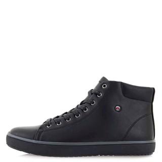 Ανδρικά Μποτάκια 20210130 ZS Eco Leather Μαύρο JK London