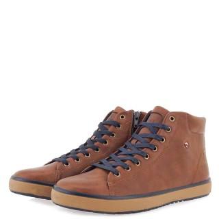 Ανδρικά Μποτάκια 20210130 ZS Eco Leather Ταμπά JK London