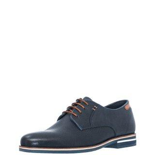 Ανδρικά Casual Παπούτσια Q17 Q17 01 Δέρμα Μπλέ JK London