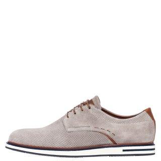 Ανδρικά Casual Παπούτσια 111 Δέρμα Καστόρι Γκρι Kricket