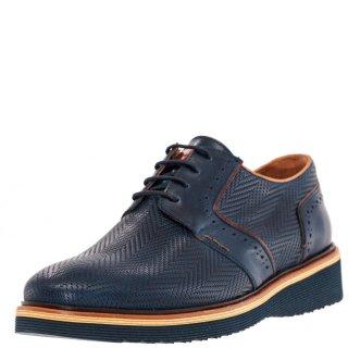 Ανδρικά Casual Παπούτσια 220 Δέρμα Μπλέ Kricket
