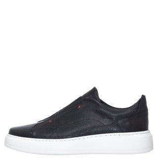 Ανδρικά Sneakers 401 Δέρμα Μαύρο Kricket