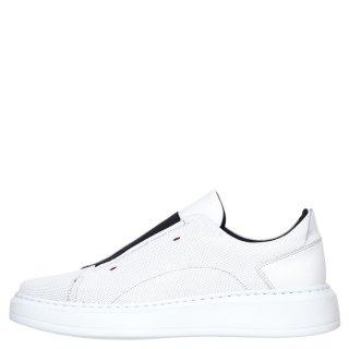 Ανδρικά Sneakers 401 Δέρμα Λευκό Kricket