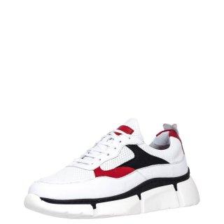 Ανδρικά Sneakers 906 Δέρμα Λευκό Kricket