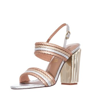 Γυναικεία Πέδιλα 094 LC MONA 940 Eco Leather Ασημί Χρυσό Ροζ Χρυσό Lara Conte