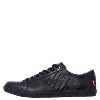 Ανδρικά Sneakers 227814 794 WOODS 501 Eco Leather Μαύρο Levi's