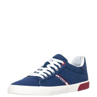 Ανδρικά Sneakers 227833 1733 SKINNER Ύφασμα Μπλέ Raf Levi's