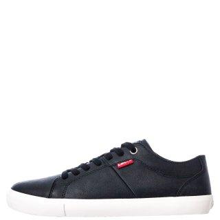 Γυναικεία Sneakers 227843 755 WOODS Eco Leather Μαύρο Levi's