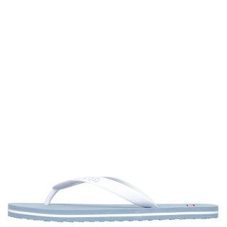 Γυναικείες Παντόφλες 229817 753 DIXON Σιλικόνη Λευκό Γαλάζιο Levi's