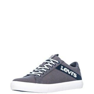 Ανδρικά Sneakers 230667 1733 WOODWARD Ύφασμα Γκρι Levi's