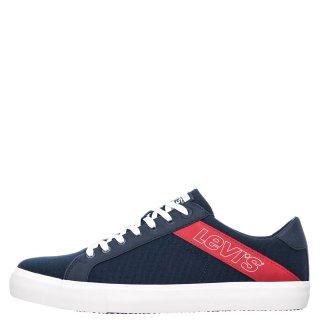 Ανδρικά Sneakers 230667 1919 WOODWARD Ύφασμα Μπλέ Levi's