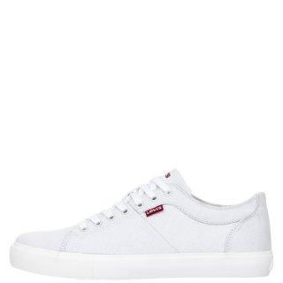 Ανδρικά Sneakers 231571 634 WOODWARD Ύφασμα Offwhite Levi's