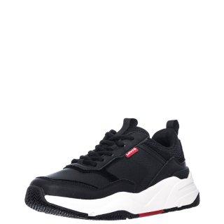 Γυναικεία Sneakers 232031 795 WEST Δέρμα Καστόρι Eco Leather Μαύρο Levi's