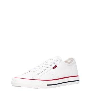 Γυναικεία Sneakers 233013 733 HERNANDEZ Ύφασμα Λευκό Levi's