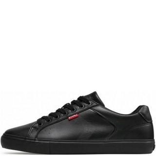 Ανδρικά Sneakers 233039 794 WOODWARD Eco Leather Μαύρο Levi's