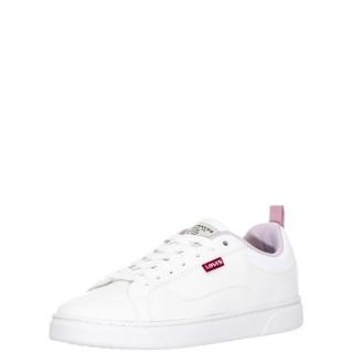 Γυναικεία Sneakers 233657 605 CAPLES Eco Leather Λευκό Levi's