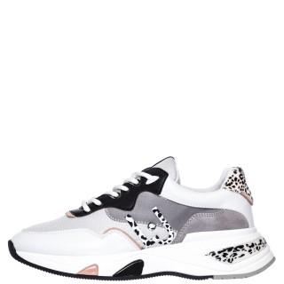 Γυναικεία Sneakers BF1019 EX113 HOA 10 Δέρμα Ύφασμα Λευκό Liu-Jo