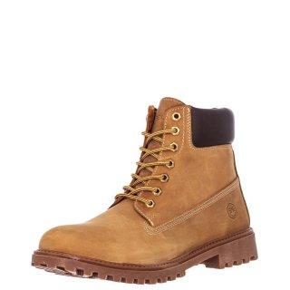Ανδρικά Μποτάκια SM00101 034 H01 RIVER Δέρμα Κίτρινο Lumberjack