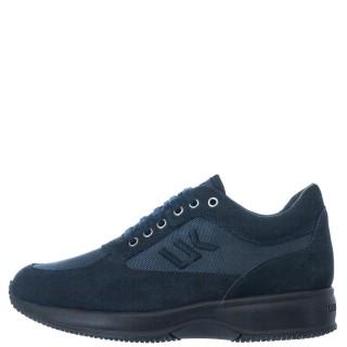 Ανδρικά Sneakers SM01305 010 M21 RAUL Δέρμα Καστόρι Μπλέ Lumberjack