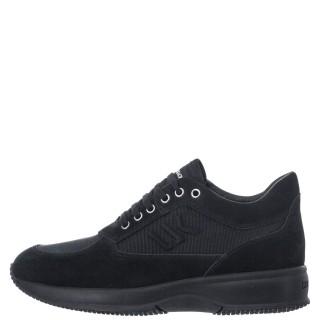 Ανδρικά Sneakers SM01305 010 M21 RAUL Δέρμα Καστόρι Μαύρο Lumberjack