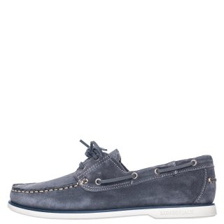 Ανδρικά Boat Shoes SM07804 005 A04 NAVIGATOR Δέρμα Καστόρι Γκρι Lumberjack